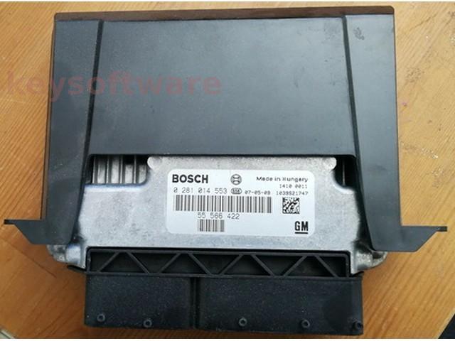 ECU Saab 9-3 1.9TID 55566422 0281014553 EDC16C39 {