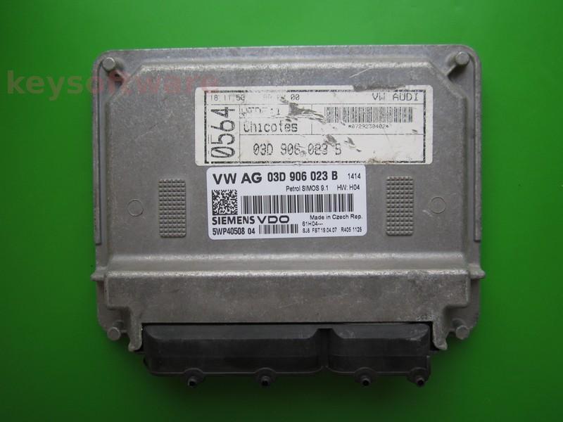 ECU Skoda Fabia 1.2 03D906023B 5WP40508 SIMOS 9.1 BMD