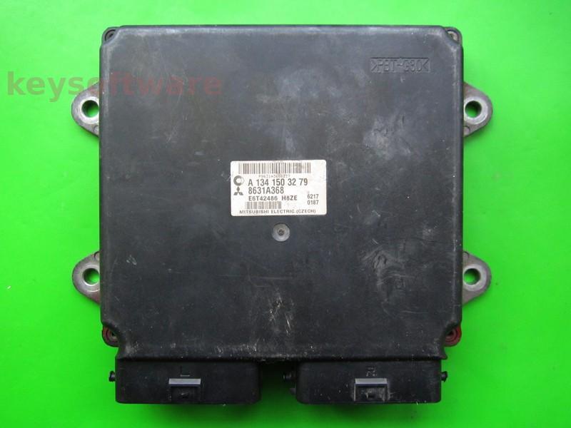 ECU Smart Forfour 1.1 A1341503279 8631A368