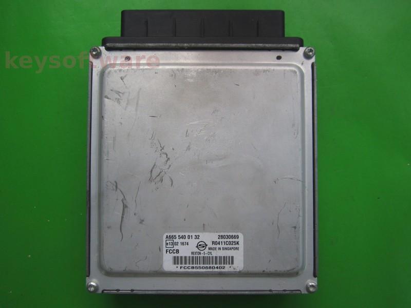 ECU Ssangyong Rexton 2.7D A6655400132 DCM3.2AP