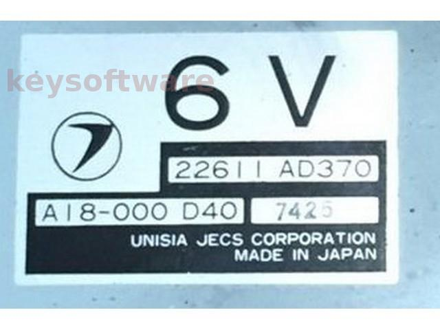 ECU Subaru Impreza 1.6 22611AD370 6V {