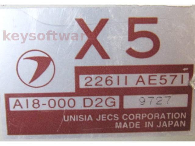 ECU Subaru Impreza 1.6 22611AE571 X5 {
