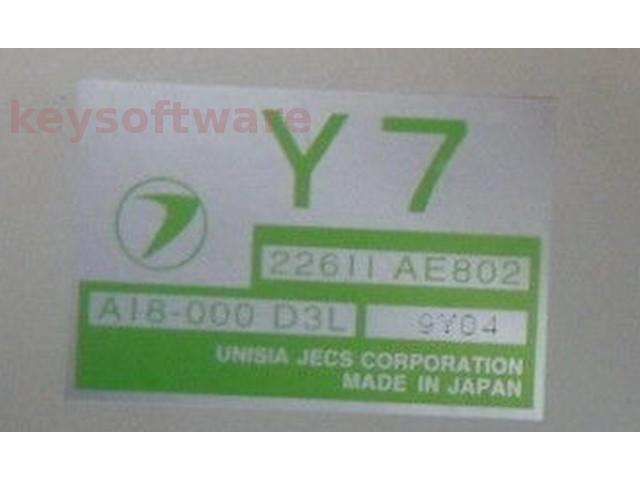 ECU Subaru Impreza 2.0 22611AE802 Y7 {