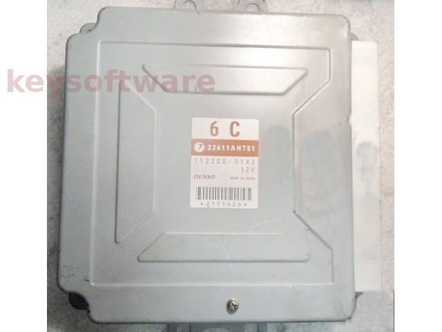 ECU Subaru Impreza 2.0 22611AH751 112200-5142 {