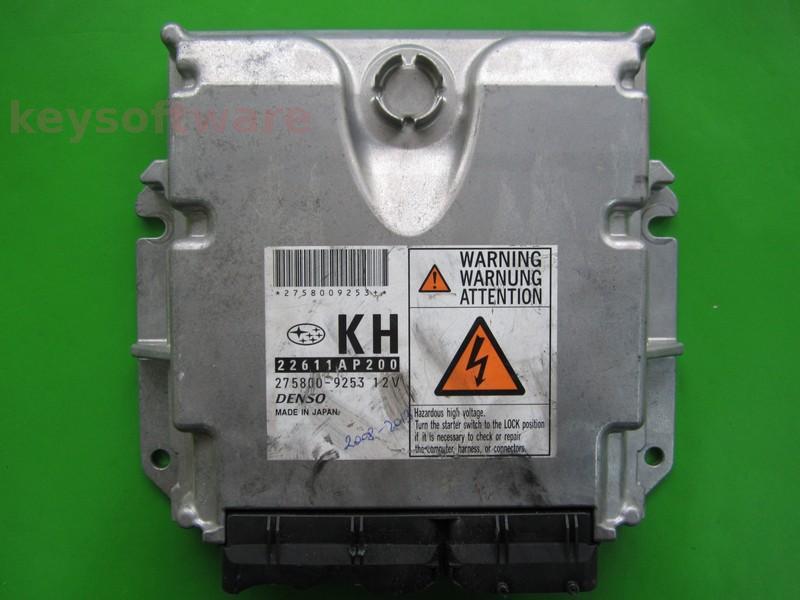 ECU Subaru Forester 2.0D 22611AP200 275800-9253 KH
