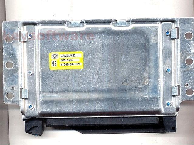 ECU Subaru Forester 2.5 27522SA051 0265109826 {