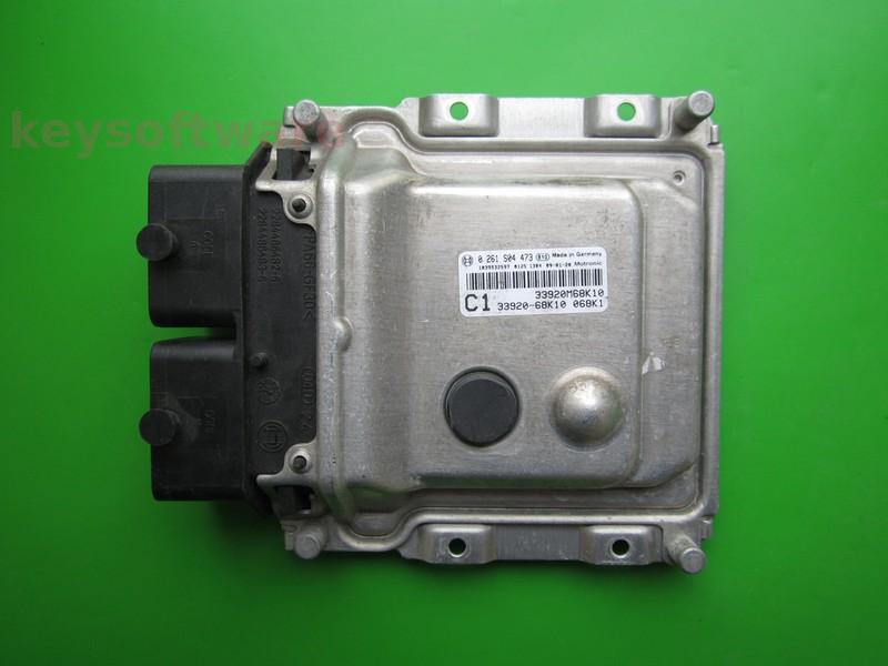ECU Suzuki Alto 1.0 33920-68K10 0261S04473 ME17.9.5