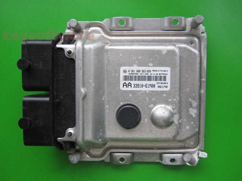 ECU Suzuki Grand Vitara 1.6 33910-61M00 0261S08263 ME17.9.61