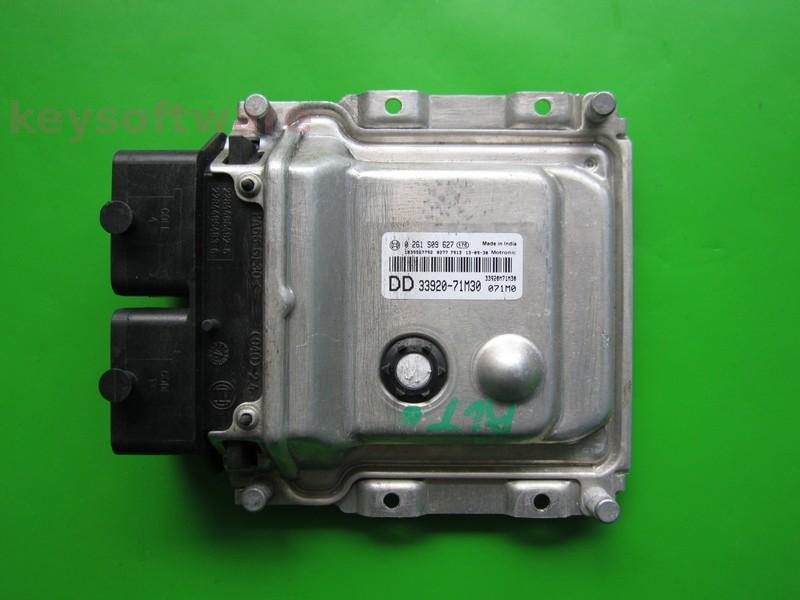 ECU Suzuki Alto 1.0 33920-71M30 0261S09627 ME17.9.6