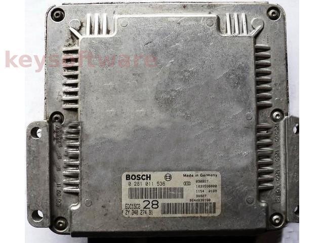 ECU Suzuki Grand Vitara 2.0HDI 33920-53J1 0281011536 EDC15C2 { +