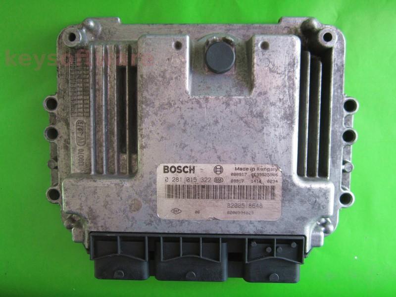 ECU Suzuki Grand Vitara 1.9DDI 8200904029 0281015322 EDC16C3 {