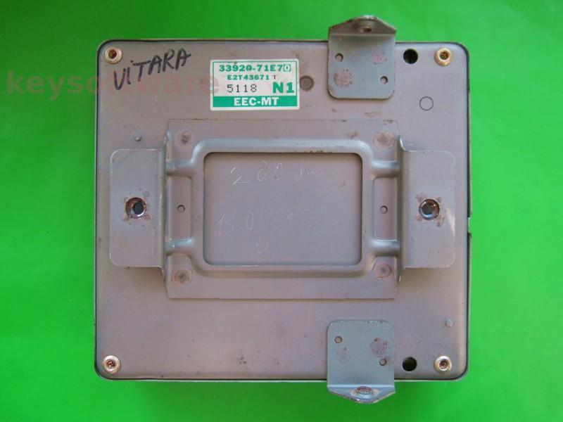 ECU Suzuki Grand Vitara 1.6 33920-71E7 E2T43671