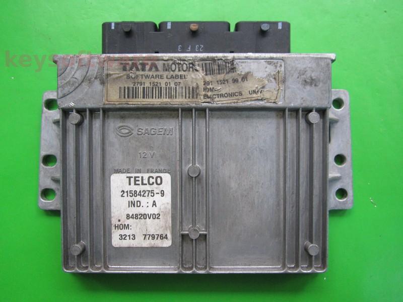 ECU Tata Indigo 1.4 279115210107 21584275