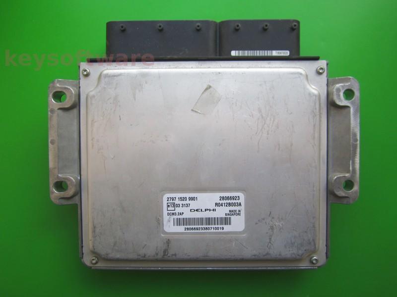 ECU Tata Indigo 1.4D 28066923 R0412B003A DCM3.2AP