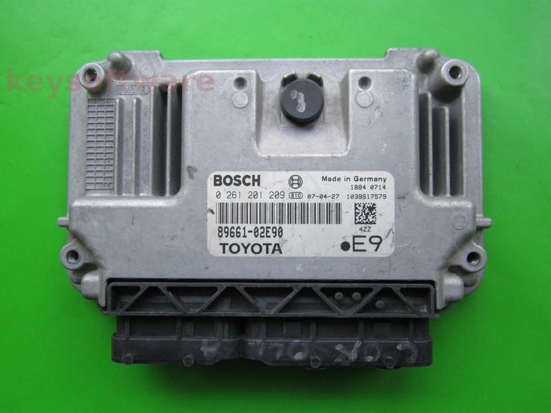 ECU Toyota Auris 1.4 89661-02E90 0261201209 M7.9.41
