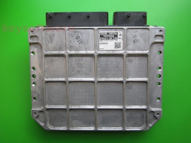 ECU Toyota Auris 2.0 89661-0F140 MB275900-0301