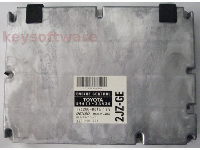 ECU Lexus GS300 3.0 89661-3A430 175200-0645 {