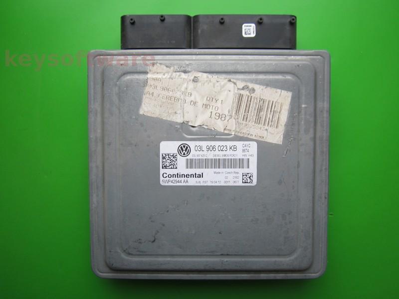 ECU VW Beetle 1.6TDI 03L906023KB 5WP42944 SIMOS PCR2.1 CAYC