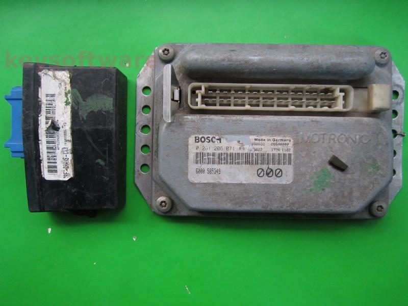 KIT Dacia Papuc 1.4 585349 0261206071 MA1.7